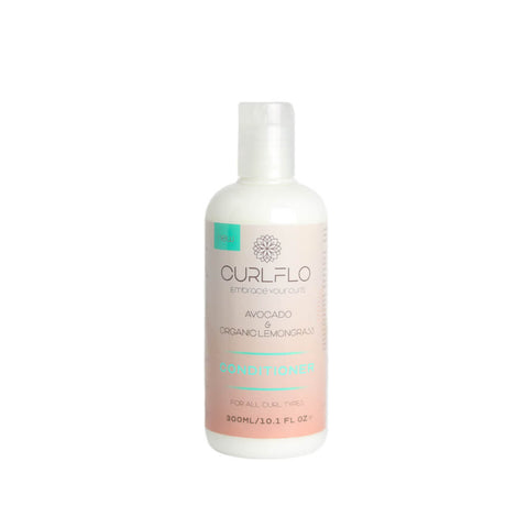 Curl Flo - Avocado & Organic Lemongrass Conditioner 300ml - Black Beautique