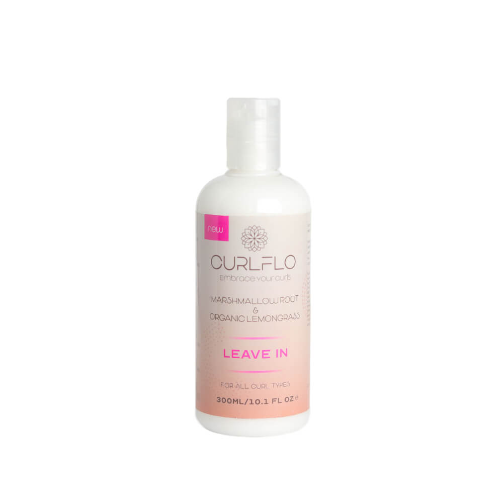 Curl Flo - Marshmallow Root & Organic Lemongrass Leave In - Black Beautique