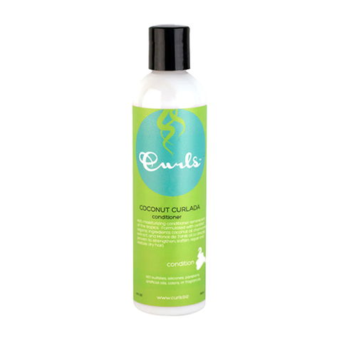 Curls - Coconut Curlada Conditioner 240ml -  Black Beautique