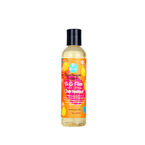 Curls So So Fresh Vitamin C + Mint Scalp Treatment 236ml - Black Beautique