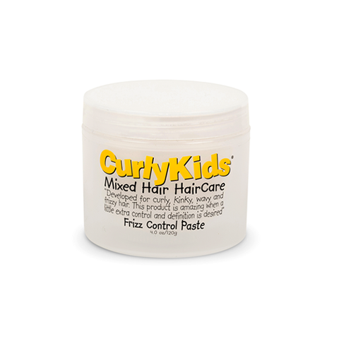 CurlyKids - Frizz Control Paste - 4oz - Black Beautique