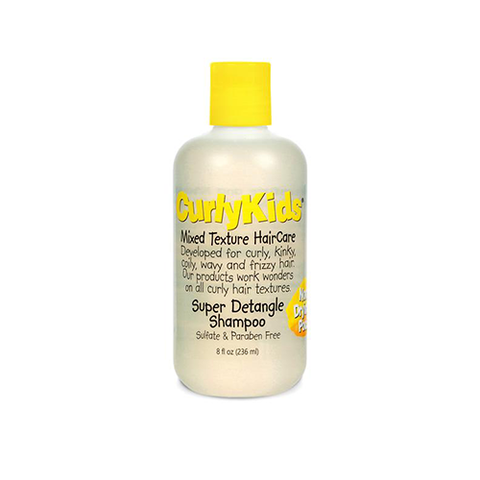 CurlyKids - Super Detangle Shampoo 236ml - Black Beautique