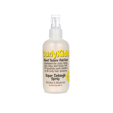 CurlyKids - Super Detangle Spray 180ml - Black Beautique