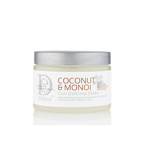 Design Essentials - Coconut & Monoi Curl Defining Gelée 340g | Black Beautique