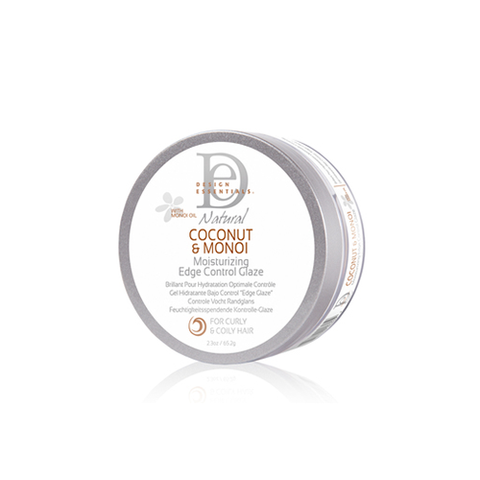 Design Essentials - Coconut & Monoi Moisturizing Edge Control Glaze - 2.3oz