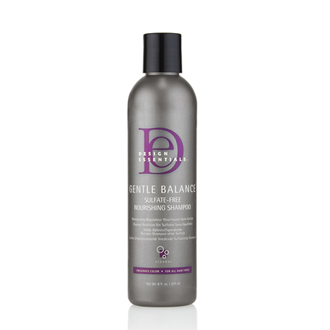 Design Essentials - Gentle Balance Sulfate-Free Nourishing Shampoo - 8oz