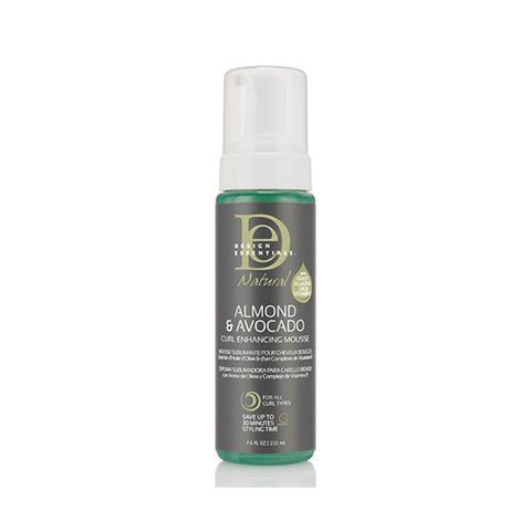 Design Essentials - Almond & Avocado Curl Enhancing Mousse 222ml |Black Beautique