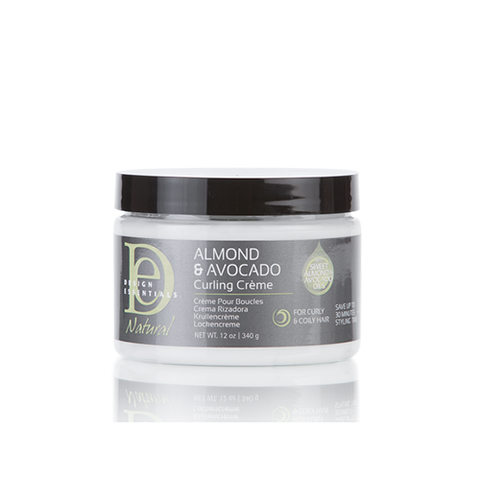 Design Essentials - Almond & Avocado Curling Creme 340g | Black Beautique