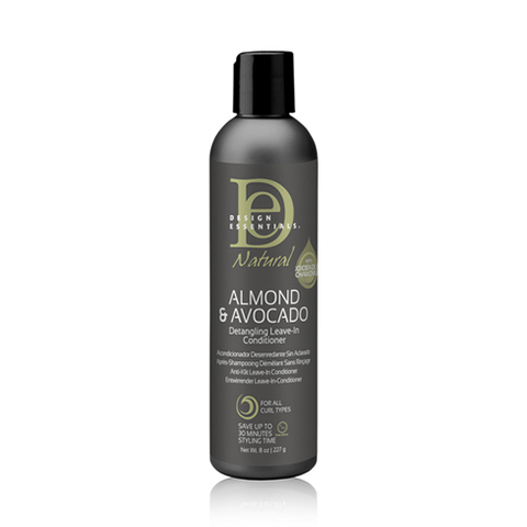 Design Essentials - Almond & Avocado Detangling Leave-In Conditioner 227g - Black Beautique