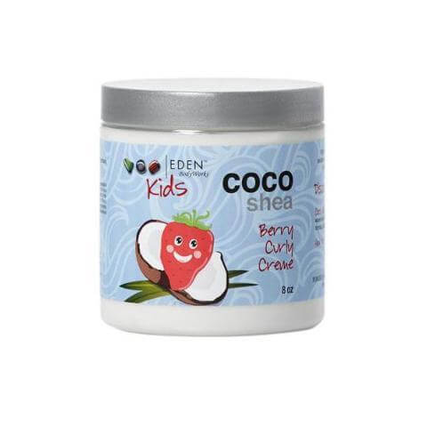 EDEN BodyWorks Kids Coco Shea Berry Curly Creme 227g - Black Beautique