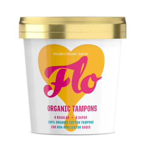 Flo - Organic Non-Applicator Tampon
