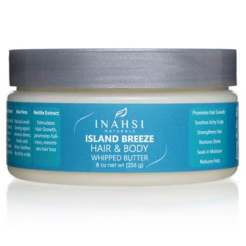 Inahsi Naturals-Island Breeze Hair & Body Whipped Butter 226g