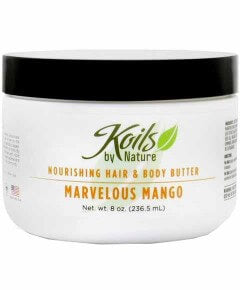 Koils by Nature - Nourishing Hair & Body Butter Marvelous Mango237ml