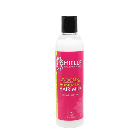 MIELLE ORGANICS - Avocado Moisturizing Hair Milk 240ml - Black Beautique