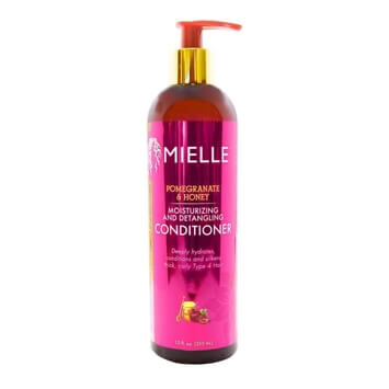 MIELLE - Pomegranate & Honey Moisturizing and Detangling Conditioner 355ml - Black Beautique