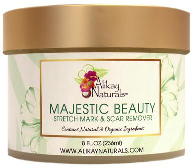 Alikay Naturals- Majestic Beauty Stretch Mark & Scar Remover 236ml - BlackBeautique