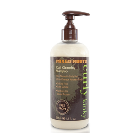 Mixed Roots - Curl Cleansing Shampoo 355ml - Black Beautique