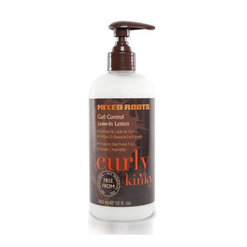 Mixed Roots - Curl Control Leave In Lotion 355ml - Black Beautique