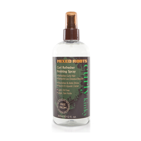 Mixed Roots - Curl Refreshing Finishing Spray 355ml - Black Beautique