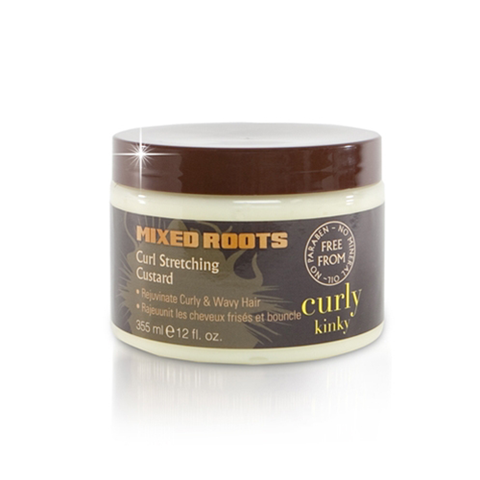 Mixed Roots - Curl Stretching Custard 355ml - Black Beautique