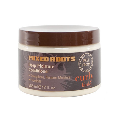 Mixed Roots - Deep Moisture Conditioner 355ml - Black Beautique