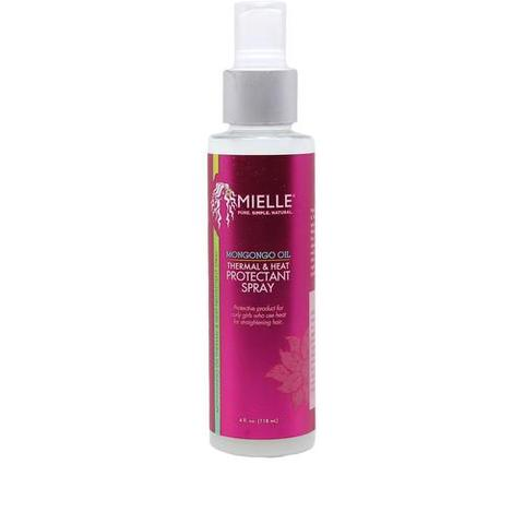 MIELLE ORGANICS - Mongongo Oil Thermal & Heat Protectant Spray 114ml - Black Beautique