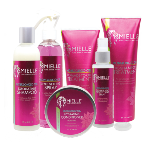 Mielle Organics Mongongo Oil Collection (6-Piece Set)