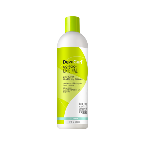 DevaCurl No-Poo Original 355ml - Black Beautique
