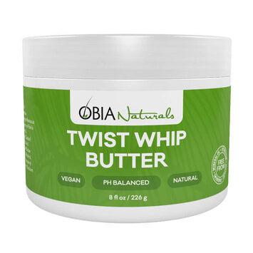 OBIA Natural Twist Whip Butter 226g - Black Beautique