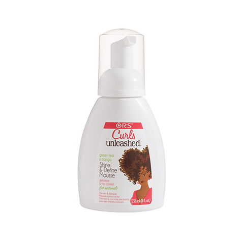 ORS - Curls Unleashed Shine & Define Mousse - 8oz