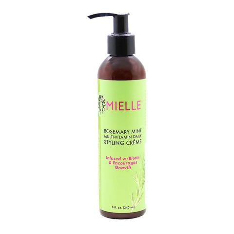 MIELLE - Rosemary Mint Multi-Vitamin Daily Styling Crème 240ml - Black Beautique