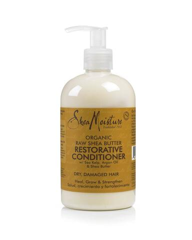 Shea Moisture - Raw Shea Butter Restorative Conditioner 384ml - Black Beautique