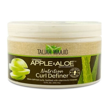Taliah Waajid Green Apple & Aloe Nutrition Curl Elixir 355ml - Black Beautique
