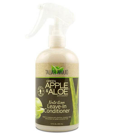 Taliah Waajid - Green Apple & Aloe Nutrition Leave-In Conditioner 355ml - Black Beautique