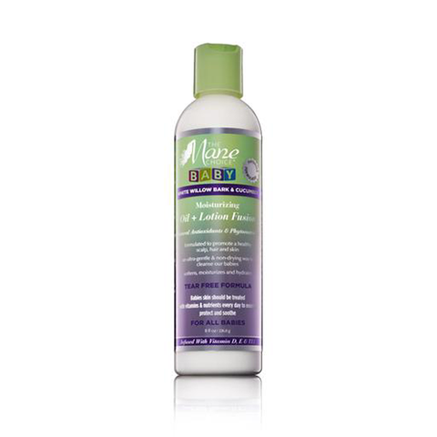The Mane Choice - White Willow Bark & Cucumber Baby Oil + Lotion Fusion 240ml