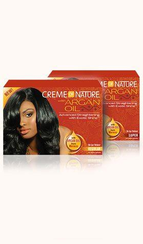 Creme Of Nature Argan Oil Advanced Straightening Relaxer