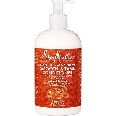 SheaMoisture Argan Oil & Almond Milk Smooth & Tame Conditioner 384ml