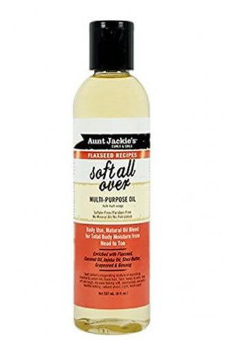 Aunt Jackie's - Soft All Over Multi-Purpose Oil 237ml |Black Beautique