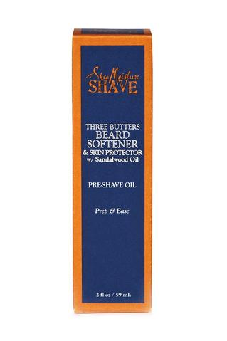 SheaMoisture Three Butters Beard Softner & Skin Protector