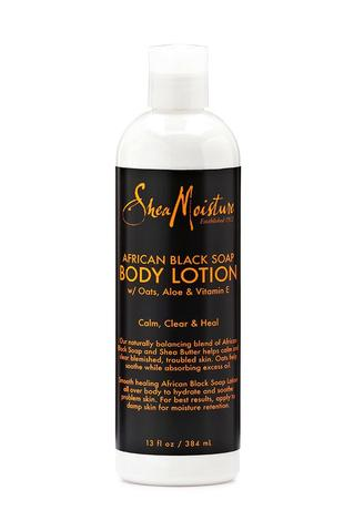 SheaMoisture - African Black Soap Body Lotion 384ml - Black Beautique