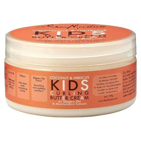 SheaMoisture - Coconut & Hibiscus KIDS Curling Buttercream 170g - Black Beautique