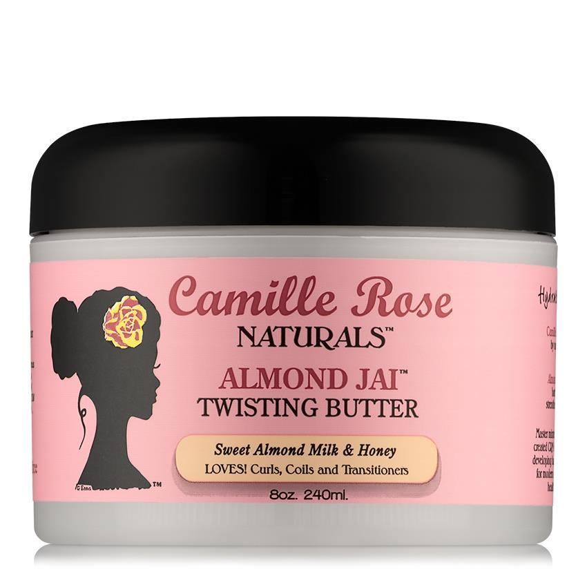 Camille Rose - Almond Jai Twisting Butter - 240ml - Black Beautique