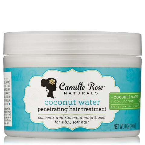 Camille Rose - Coconut Water Penetrating Hair Treatment - 240ml - BlackBeautique