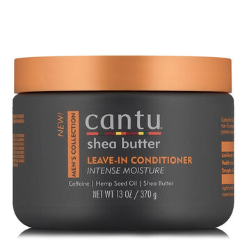 Cantu - Mens Leave-In Conditioner 370g - Black Beautique