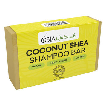 OBIA Natural Coconut Shea Shampoo Bar 113g - Black Beautique