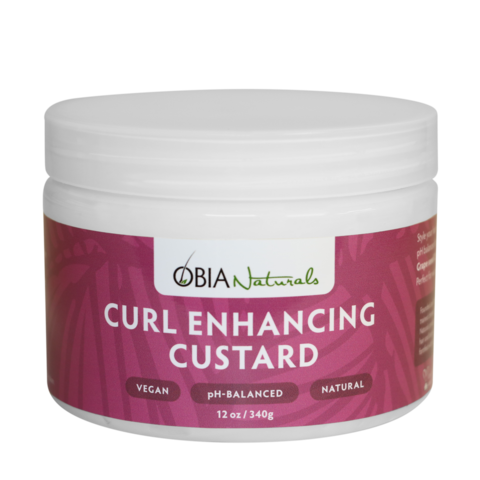 OBIA Natural Hair Care Curl Enhancing Custard 12oz