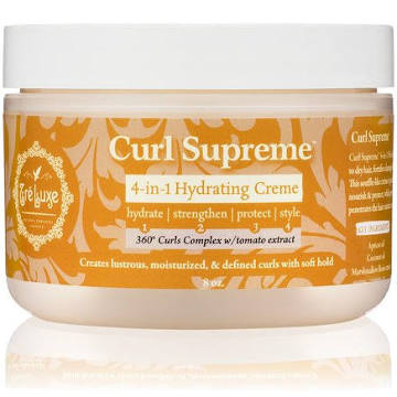 TreLuxe' Curl Supreme 4-in-1 Hydrating Crème - Black Beautique