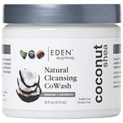 Eden BodyWorks Coconut Shea Cleansing CoWash 473ml  - Black Beautique