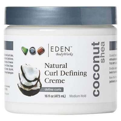 Eden BodyWorks Coconut Shea Curl Defining Creme 473ml - Black Beautique
