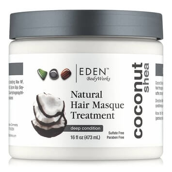 Eden BodyWorks - Coconut Shea Hair Masque 473ml - Black Beautique